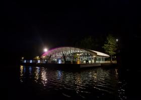 Amenajare pavilion de pe lac